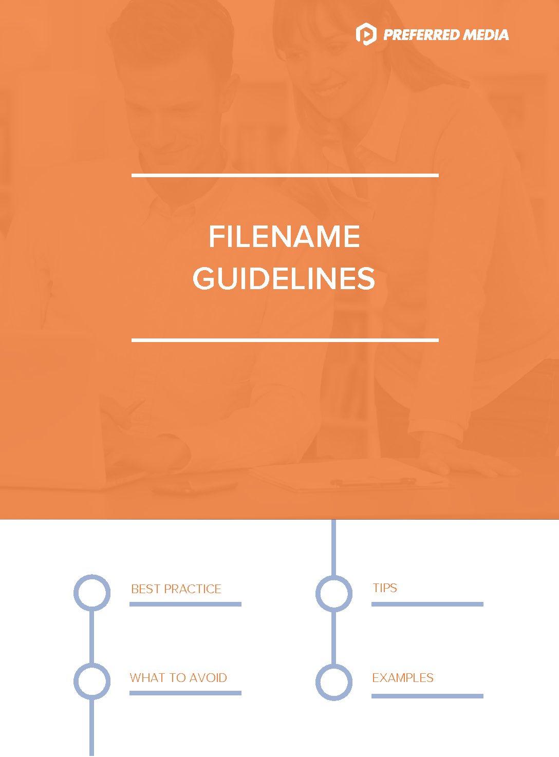 Filename-Guidelines