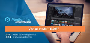 Visit us at SMPTE 2017 - Stand A54