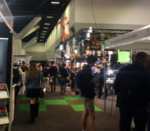 Crowd at SMPTE 2017